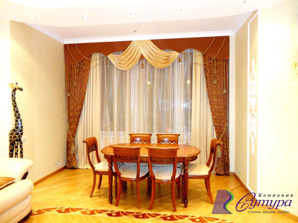 Шторы в гостиную на заказ в Серпухове