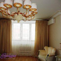 Шторы в спальню на заказ в Москве
